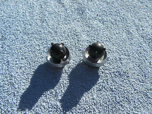 1951 Ford Victoria Radio Knobs an Bezels