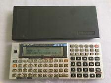 SHARP Pocket computer PC-1475 Function Calculator Rare Retro TESTED Working
