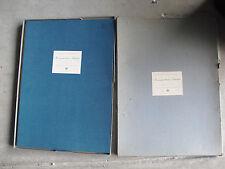 "RARE Vintage 1948 Grandma Moses 8 Print Portfolio Box Set 14x20"" Art in America"