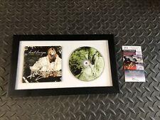 AVRIL LAVIGNE SIGNED FRAMED GOODBYE LULLABY CD RARE JSA COA AUTOGRAPHED