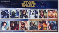 GB Presentation Pack 518 2015 STAR WARS WITH MINIATURE SHEET