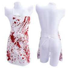 Printed Bloody Apron Murder Halloween Baking Kitchen Novelty Gift Blood StainedK