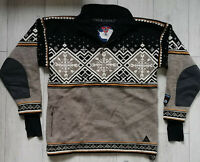 """Dale of Norway """"L"""" Special Edition 1999 Polarwind Jumper Pure New Wool Sweater"""