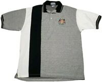 Vintage 90s LAY'S Polo Shirt Corporate Normcore Colorblock Experience the Lays