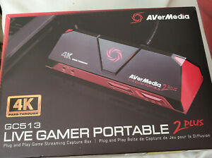 AVerMedia Live Gamer Portable 2 Plus 4K GC513 - Brand New
