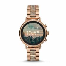 Fossil Q Gen 4 Smart Watch - Venture Stainless Rose Gold Glitz - Smartwatch