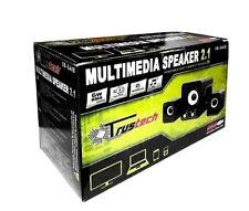 SPEAKER 2.1 CON SUBWOOFER ALIMENTAZIONE USB PER PC SMARTPHONE NOTEBOOK, TRUSTECH