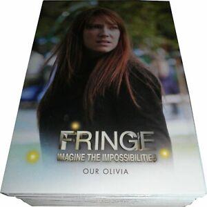 Complete Base set of FRINGE SEASONS 3 & 4 Trading Cards - Anna Torv