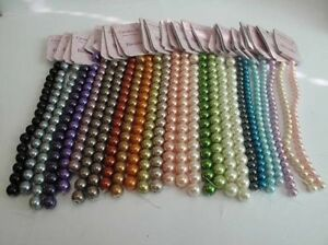 String Of Beads 10 & 7mm, 26 Colours to Choose, Jewellery Making, Arts & Crafts