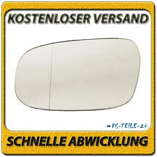 Außenspiegel Spiegelglas für VOLVO C30 2006-2010 links Fahrerseite asphärisch