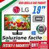 "PC MONITOR SCHERMO LED 19 18,5"" POLLICI LG EN33S 16:9 WIDE VGA DVI BUONO TOP LCD"
