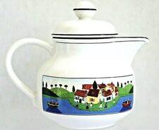 Villeroy & Boch Design Naif Laplau White China Teapot Luxembourg