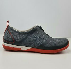 Merrell Womens Shoes Size 5 Black Grey Zip Up Active Walking Casual Grip Soles