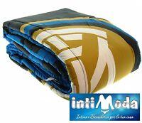 Trapunta Piumone invernale F.C. Inter ufficiale Singolo 170x260cm 320gr/mq