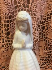 Lladro Nao 236 Girl Praying Retired! Mint Condition! No Box! L@K! Great Gift!