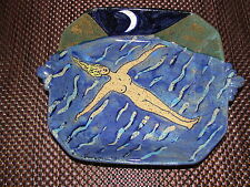 Ana Varela Studio Pottery Nude Swimming Bowl
