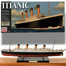 "MINICRAFT 1/350 RMS TITANIC *OVER 30""+ LARGEST SCALED KIT STAND, PHOTOETCH"