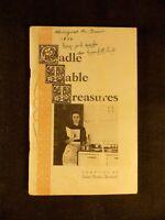 Cadle Table Treasures (Softcover, undated (1950's?)) Helen Cadle Bonham