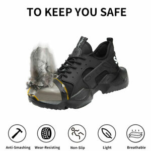 Unisex Safety Sneakers Work Trainers Steel Toe Cap Lightweight Hiking boots UK5