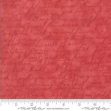 MODA Fabric ~ POETRY ~ by 3 Sister's (3728 30) Rose - by the 1/2 yd