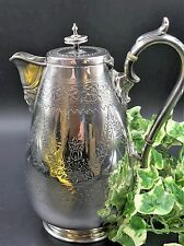 Splendido argento placcato Caffettiera con Bacco maschera beccuccio-BELLISSIMA Qualità