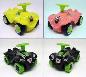 New Mini Bobby Car - pull back action - Spongebob / Patrick / black zur Auswahl
