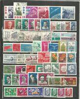 DDR  1961   gestempelt   Jahrgang    komplett