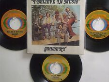 LOT OF 4 ' GALLERY ' HIT 45's+1PS[I Believe In Music/Someone]    THE 70's!