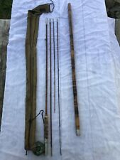 Winchester Antique Vintage 6050 Bamboo Fly Rod Fishing Pole Original Carrier