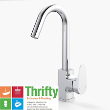 Dorf Viridian Sink Mixer Gooseneck for Kitchen or Laundry
