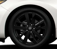 6x Alloy Wheels Stickers Fits Renault Megane Graphics Vinyl Decals RD103