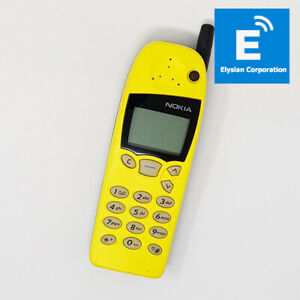 Nokia 5110 2G - Vintage Phone - Yellow - Excellen Condition - Unlocked -Fast P&P