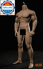 1/6 PHICEN M30 Flexible Seamless Male Muscular Figure Body Steel Skeleton ❶USA❶