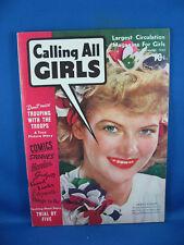 CALLING ALL GIRLS VOL 3 #23 VF+ 1942