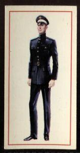 Tobacco Card, Carreras, Black Cat, MILITARY UNIFORMS, 1976, No.1 Dress, #49