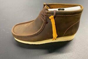 Clarks Originals Wallabee Boot 26155513 Beeswax Brand New Complete
