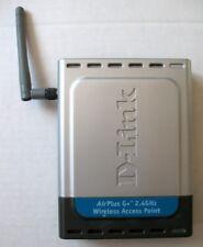 D-Link DWL-2000AP+ Airplus G+ 2.4GHz Point d'accès sans fil