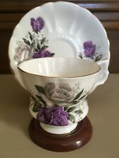 Royal Windsor Fine Bone China Footed Tea Cup and Saucer Pattern D2244