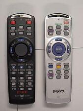 SANYO Eiki CHRISTIE remote control Fernbedienung Set + Laserpointer