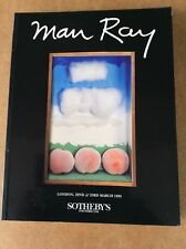 MAN RAY ~ Sotheby's Auction Catalogue. March 1995 with prices realised sheets.