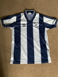 WBA vintage 1983 Rare Home Umbro football shirt Size 30/32