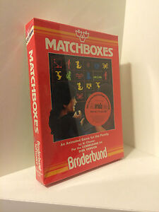 Matchboxes for Commodore 64 - sealed CIB/OVP