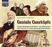 CD WISSEN Junior - Geniale Querköpfe - Jules Vern... | Buch | Zustand akzeptabel