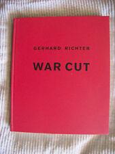 Gerhard Richter - War cut    3883757578   dt. Sprache Hardback  Verlag d. Buchh.