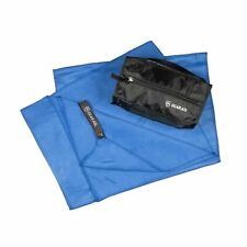 """GEAR AID Quick Dry Microfiber Towel for Travel, Camping, Cobalt, L, 30"""" x 50"""""""