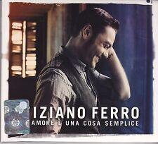 Tiziano Ferro-Lamore E Una Cosa Semplice cd album digipack