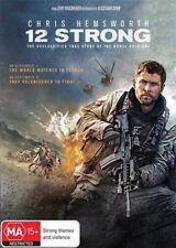 12 Strong DVD NEW Region 4 Chris Hemsworth