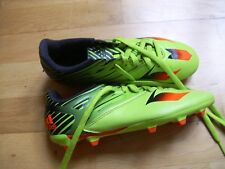 ADIDAS Boys MESSI 15.3 FG/AG football boots green size 4UK 36.5 EU  worn once