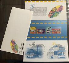 Singapore 1997 Presentation Pack Transport Stamps HV MINT Train, Buses by SLANIA