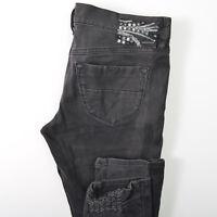 Diesel Jeans Livy Skinny Gray Wash Stretch Womens 30X32